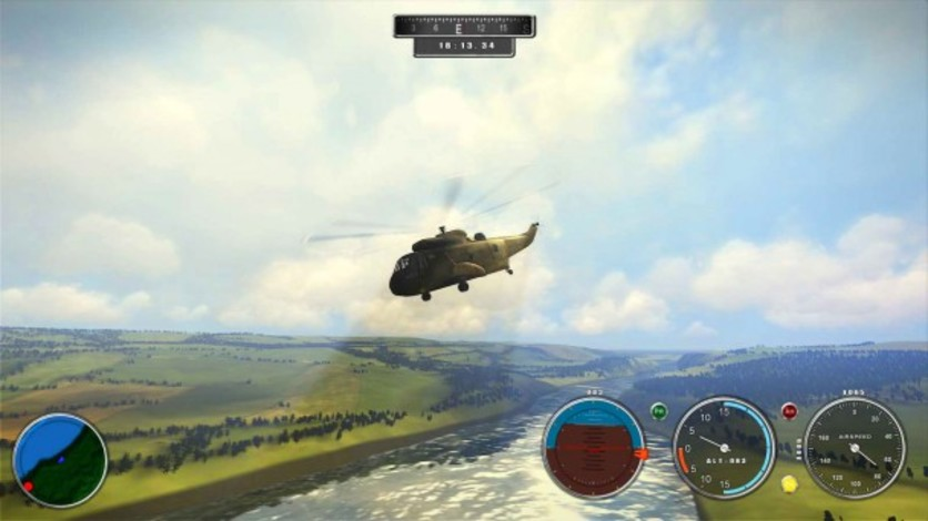 Screenshot 2 - Helicopter Simulator 2014: Search and Rescue