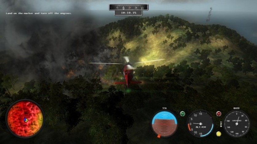 Screenshot 11 - Helicopter Simulator 2014: Search and Rescue