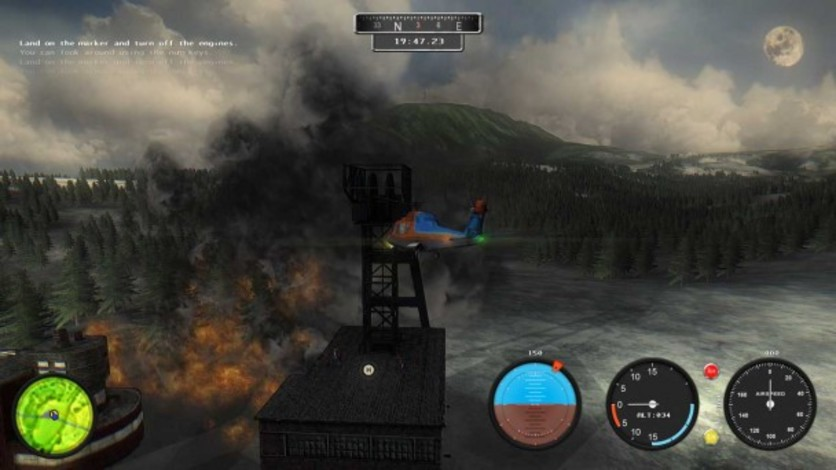 Screenshot 9 - Helicopter Simulator 2014: Search and Rescue