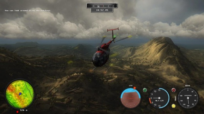 Screenshot 3 - Helicopter Simulator 2014: Search and Rescue