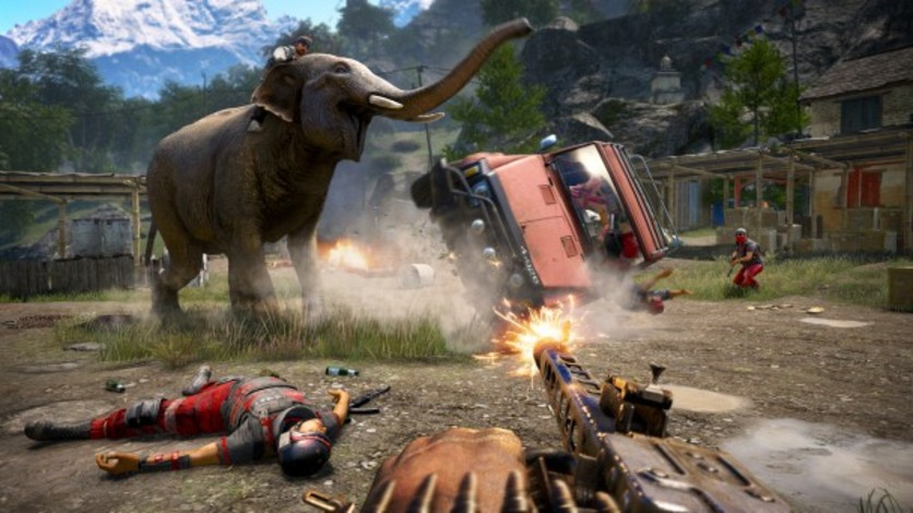 Screenshot 1 - Far Cry 4 - Hurk Deluxe Pack