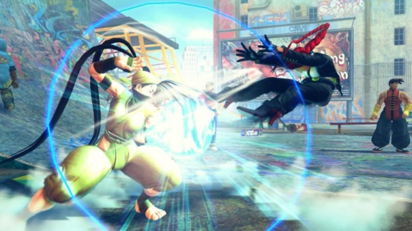 Screenshot 4 - Ultra Street Fighter IV Upgrade