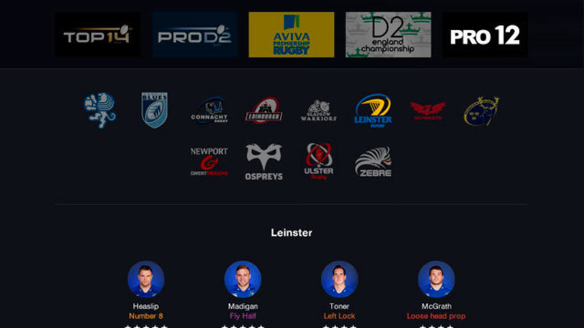 Screenshot 7 - Pro Rugby Manager 2015