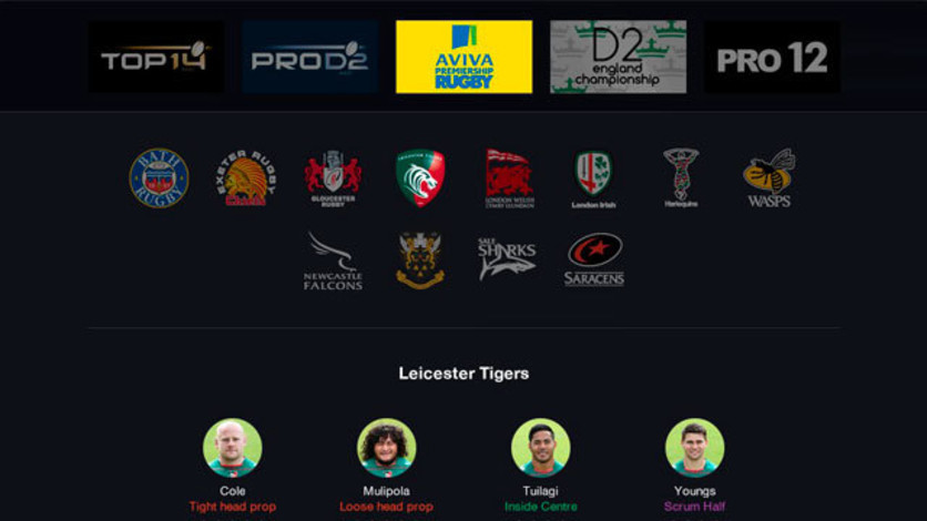 Screenshot 4 - Pro Rugby Manager 2015