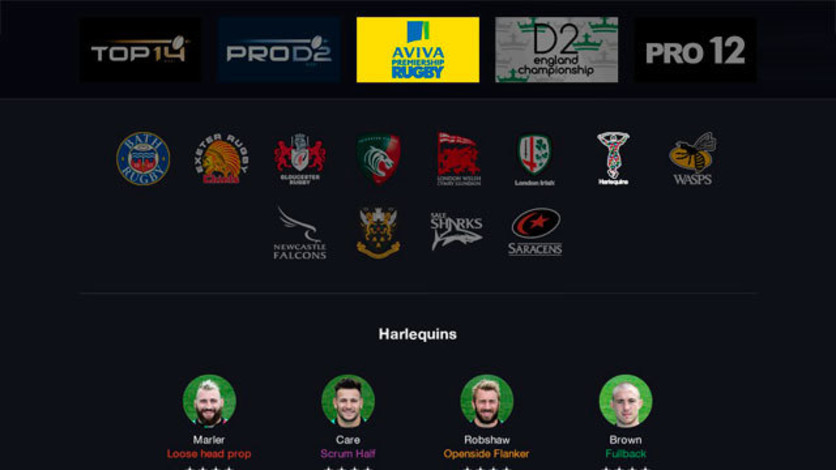 Screenshot 3 - Pro Rugby Manager 2015