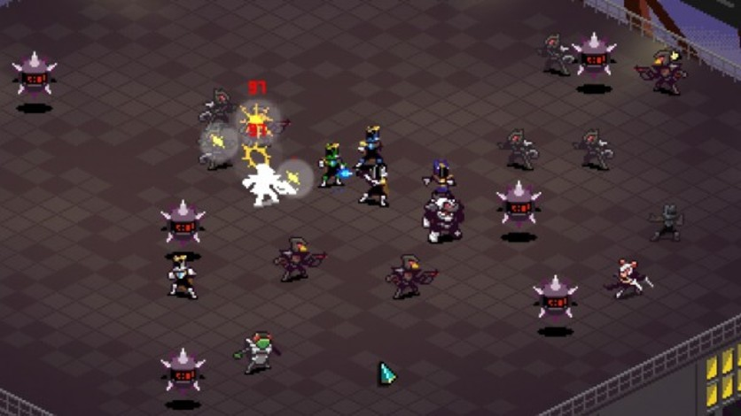 Screenshot 4 - Chroma Squad