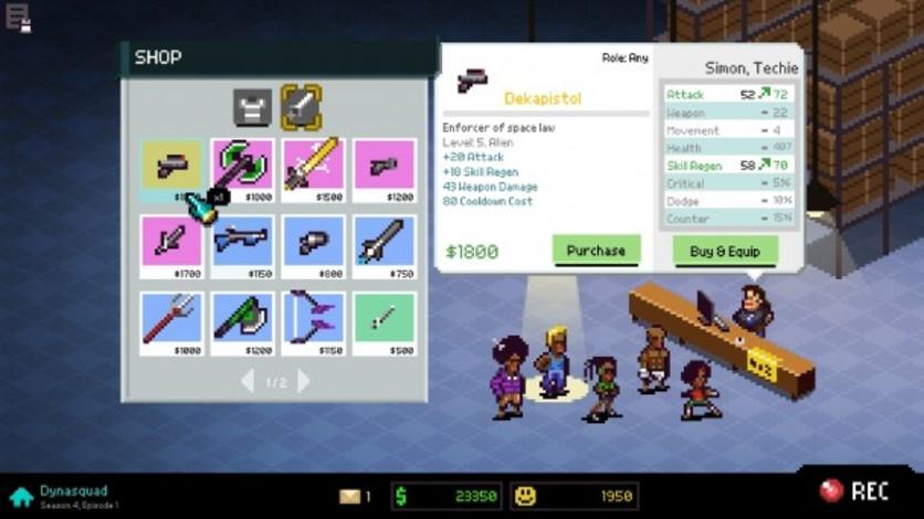 Screenshot 3 - Chroma Squad
