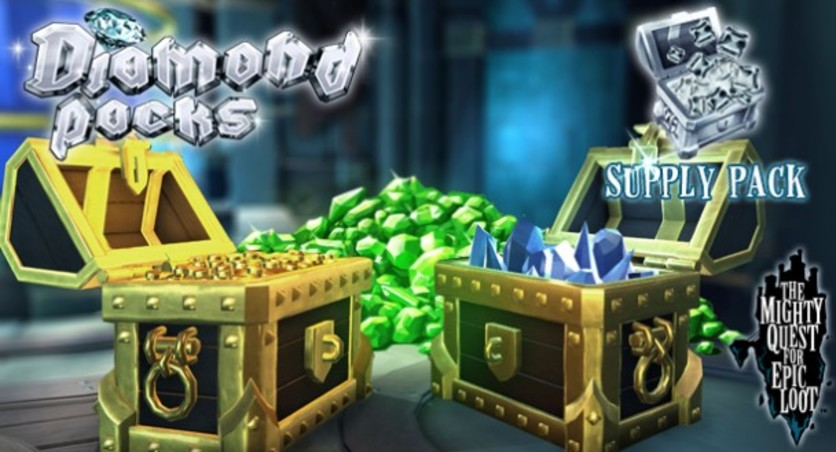Screenshot 1 - The Mighty Quest for Epic Loot - Supply Pack