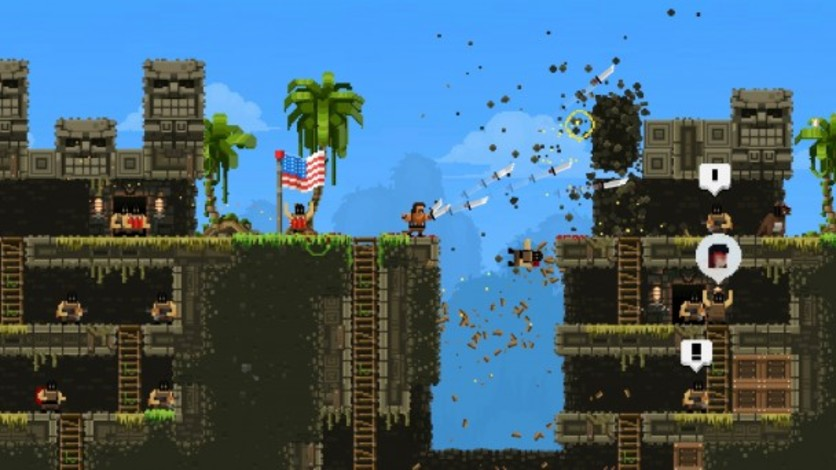 Screenshot 3 - Broforce