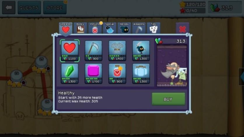 Screenshot 4 - Letter Quest: Grimm's Journey