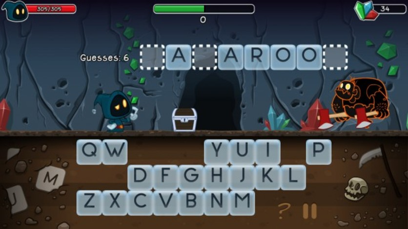 Screenshot 5 - Letter Quest: Grimm's Journey