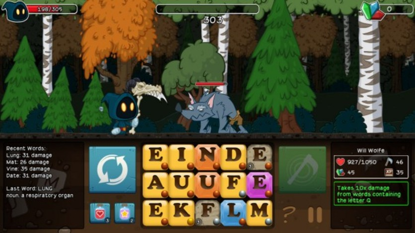 Screenshot 2 - Letter Quest: Grimm's Journey