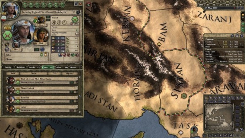 Screenshot 2 - Crusader Kings II: Persian Portraits
