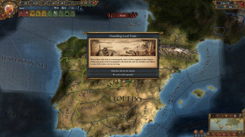 Screenshot 3 - Europa Universalis IV: Wealth of Nations