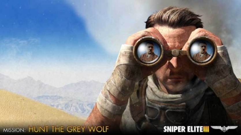 Screenshot 1 - Sniper Elite III - Target Hitler: Hunt the Grey Wolf