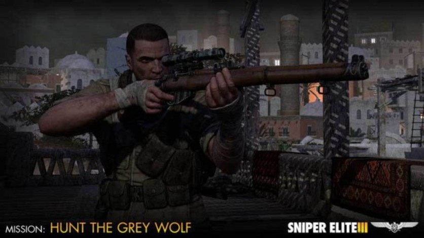 Screenshot 4 - Sniper Elite III - Target Hitler: Hunt the Grey Wolf