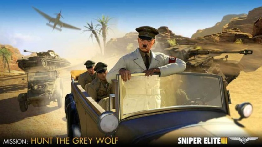 Screenshot 3 - Sniper Elite III - Target Hitler: Hunt the Grey Wolf
