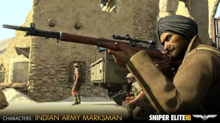 Screenshot 3 - Sniper Elite III - Allied Reinforcements Outfit Pack