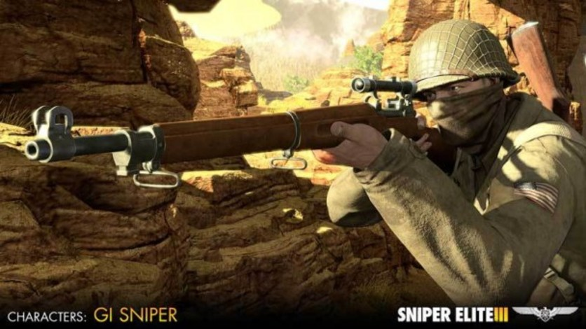 Screenshot 4 - Sniper Elite III - Allied Reinforcements Outfit Pack