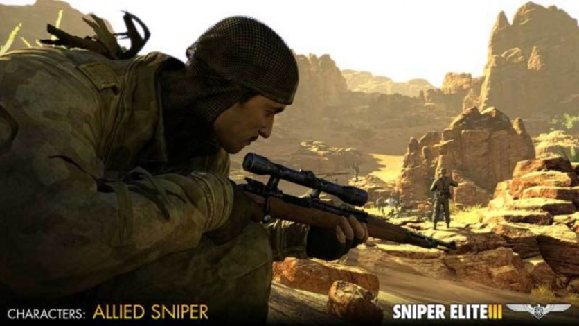 Screenshot 2 - Sniper Elite III - Allied Reinforcements Outfit Pack