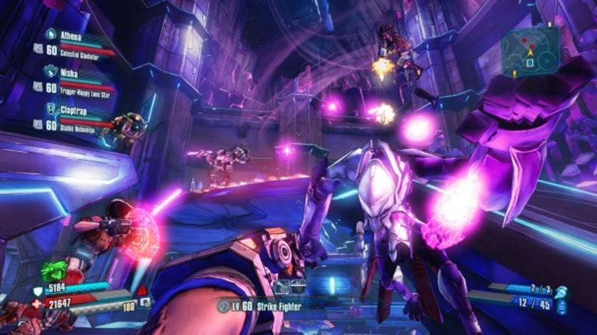Screenshot 1 - Borderlands: The Pre-Sequel - Ultimate Vault Hunter Upgrade Pack: The Holodome Onslaught