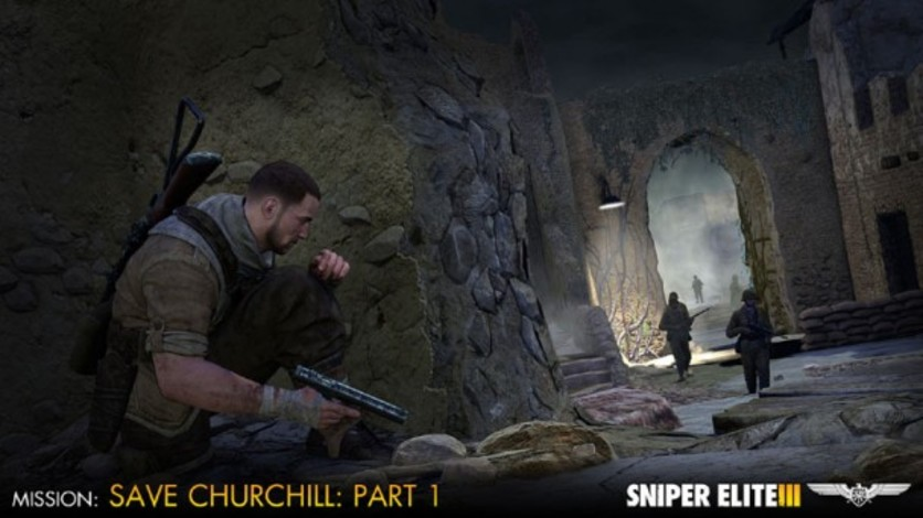 Screenshot 3 - Sniper Elite III - Save Churchill Part 1: In Shadows