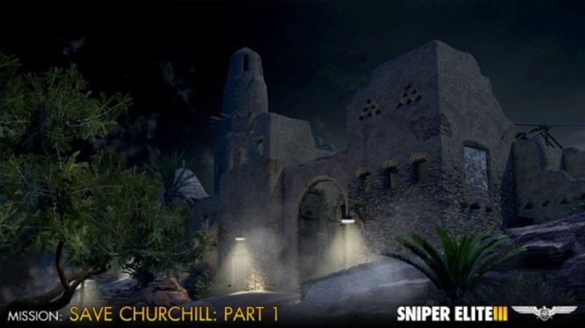 Screenshot 2 - Sniper Elite III - Save Churchill Part 1: In Shadows