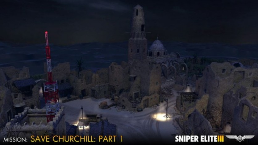 Screenshot 4 - Sniper Elite III - Save Churchill Part 1: In Shadows