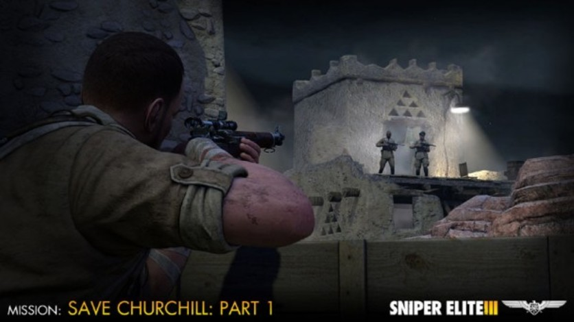 Screenshot 8 - Sniper Elite III - Save Churchill Part 1: In Shadows