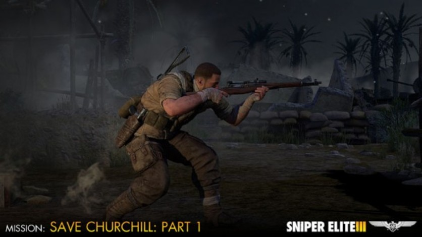 Screenshot 9 - Sniper Elite III - Save Churchill Part 1: In Shadows