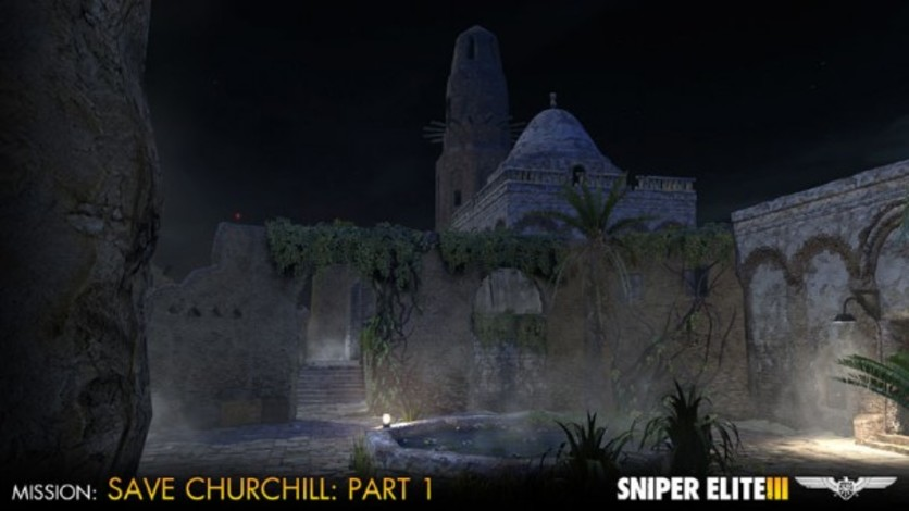 Screenshot 5 - Sniper Elite III - Save Churchill Part 1: In Shadows