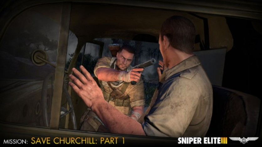 Screenshot 6 - Sniper Elite III - Save Churchill Part 1: In Shadows