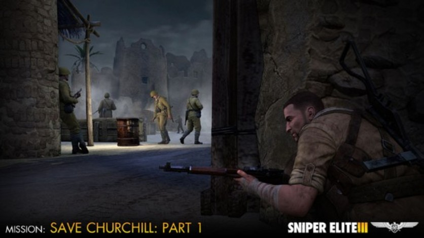 Screenshot 7 - Sniper Elite III - Save Churchill Part 1: In Shadows