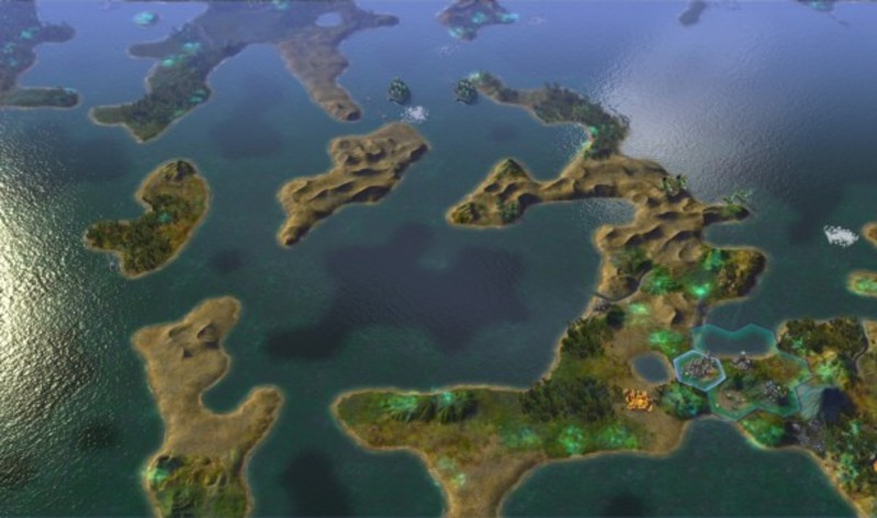 Screenshot 2 - Sid Meier's Civilization: Beyond Earth - Exoplanets Map Pack
