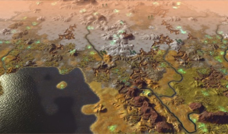 Screenshot 1 - Sid Meier's Civilization: Beyond Earth - Exoplanets Map Pack