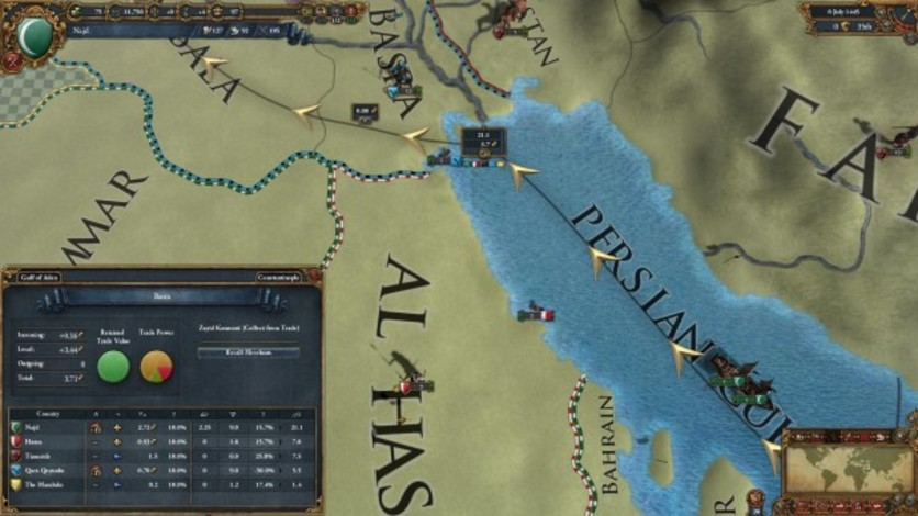 Screenshot 1 - Europa Universalis IV: Digital Extreme Edition Upgrade