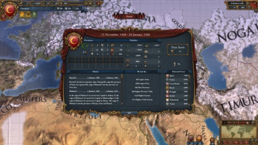 Screenshot 4 - Europa Universalis IV: Digital Extreme Edition Upgrade
