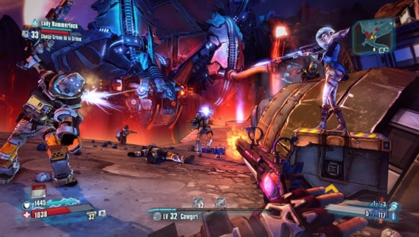 Screenshot 2 - Borderlands: The Pre-Sequel - Lady Hammerlock the Baroness Pack