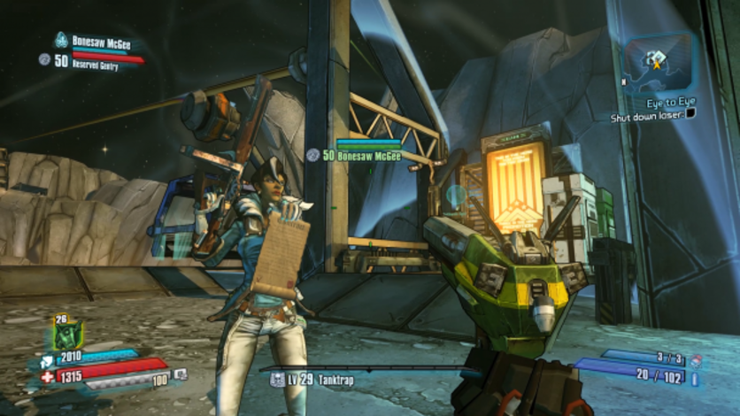 Screenshot 4 - Borderlands: The Pre-Sequel - Lady Hammerlock the Baroness Pack