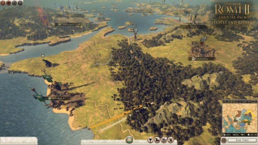 Screenshot 3 - Total War: ROME II - Pirates & Raiders Culture Pack
