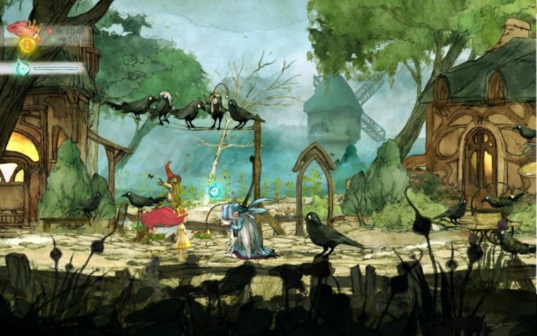 Screenshot 4 - Child of Light