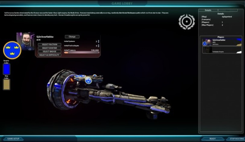 Screenshot 6 - Sword of the Stars II: Lords of Winter