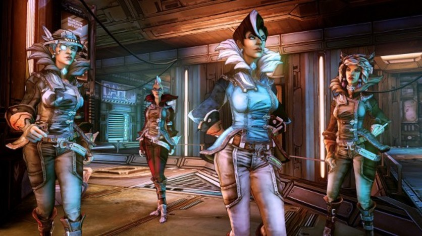 Screenshot 2 - Borderlands: The Pre-Sequel - Lady Hammerlock the Baroness Pack (MAC)