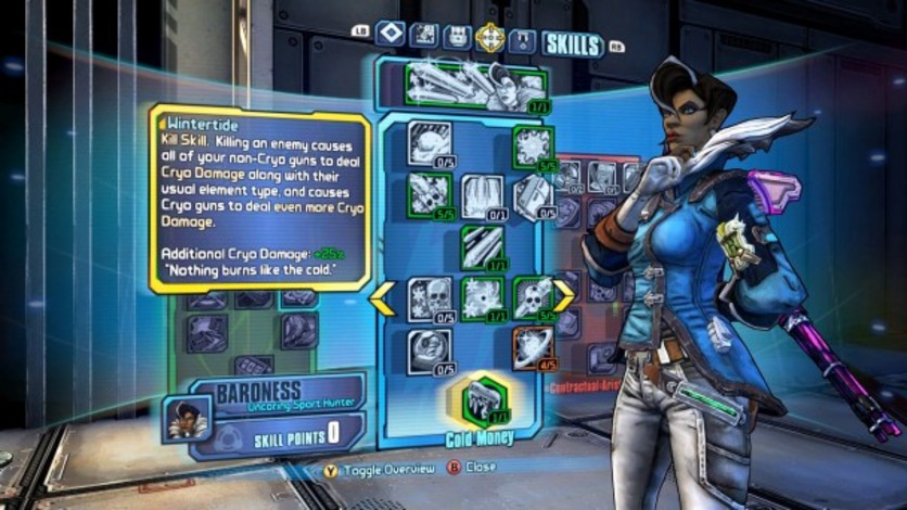 Screenshot 5 - Borderlands: The Pre-Sequel - Lady Hammerlock the Baroness Pack (MAC)