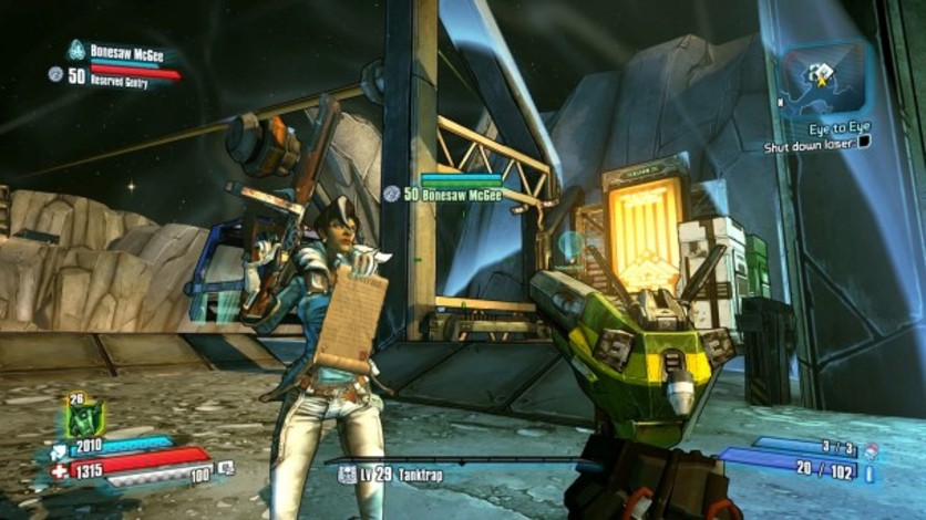 Screenshot 4 - Borderlands: The Pre-Sequel - Lady Hammerlock the Baroness Pack (MAC)