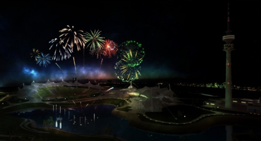 Screenshot 5 - Fireworks Simulator