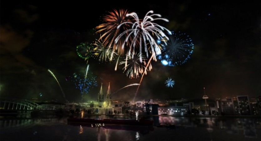 Screenshot 6 - Fireworks Simulator