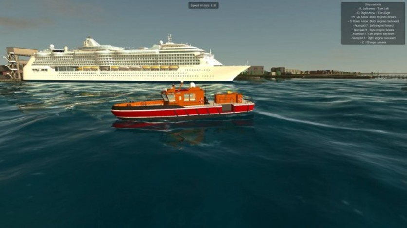 Screenshot 10 - European Ship Simulator