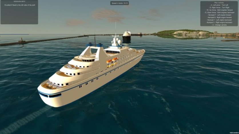 Screenshot 12 - European Ship Simulator
