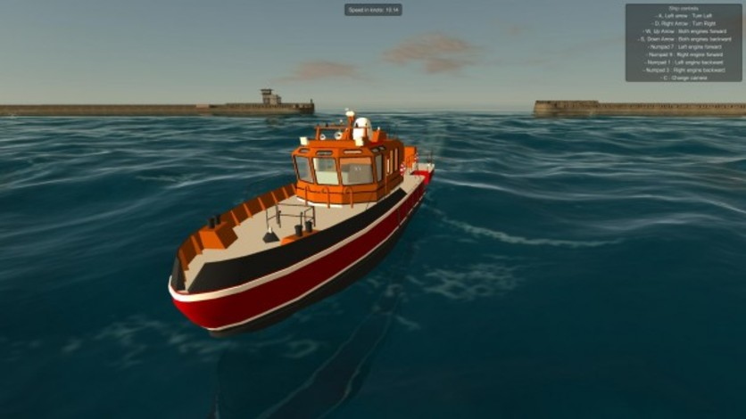 Screenshot 4 - European Ship Simulator